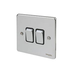 low profile light switch schneider electric ultimate low profile 2 gang 2 way 16ax