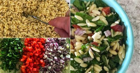 Mediterranean-style Orzo Salad
