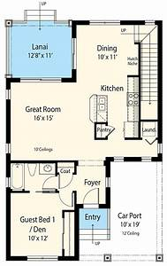 Flexible Net Zero Ready Cottage House Plan