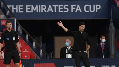 Arteta on his Heads Up FA Cup final selection   Press ...
