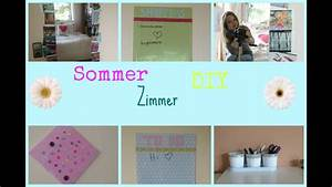 Sommer Deko Ideen : diy zimmer deko ideen sommer youtube ~ Watch28wear.com Haus und Dekorationen