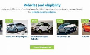 California Agrees on $133 Million for Clean Vehicle Rebate ...