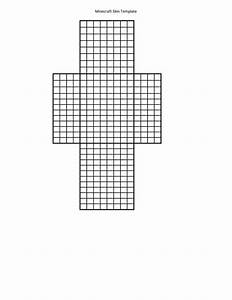 Printable Template For Minecraft Skin Creation  Use