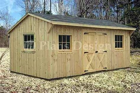 10 X 14 Saltbox Shed Plans by 10 X 16 Saltbox Roof Style Storage Shed Plans 71016 Ebay