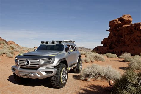 Mercedes-benz Ener-g-force Concept Is A G-class For The