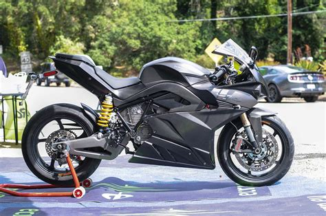 Up-close With The Energica Ego Electric Superbike