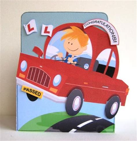passed driving test good luck boyshaped cup craftsuprint