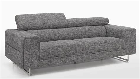 canapé tissu moderne canape tissu gris maison moderne