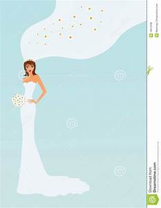 Elegant bride stock illustration. Illustration of space ...