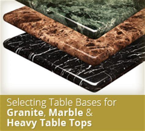 granite table tops tables tops tablebases
