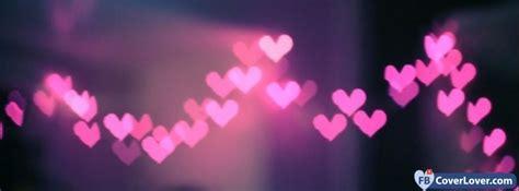 pink hearts lights cover maker fbcoverlover