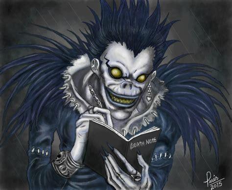 Ryuk p/ jessykagamer - Desenho de luisgontijo - Gartic