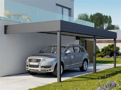 Carport Aluminium Adosse Talis 6 X 35 M  Direct Abris