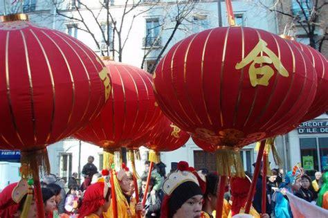 décoration de nouvel an photo de 13ème arrondissement nouvel an chinois à le programme des festivités