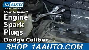 How To Replace Spark Plug 07-12 Dodge Caliber