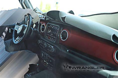 interior jeep wrangler 2018 jeep wrangler interior spied reveals all new design