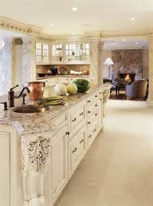 Pictures of Kitchens with Bianco Antico Granite Countertops