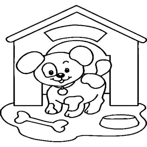 Dieren Kleurplaat Hond by Honden Kleurplaten Kleurplaat Hond Overal Kleurplaat