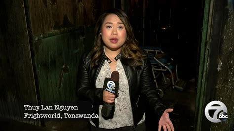 Morning Reporter Thuy Lan Nguyen Goes Through Haunted
