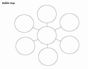 vocabulary graphic organizers bubble and double bubble With free bubble map template