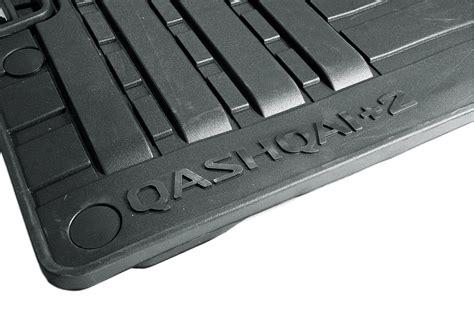 floor mats qashqai nissan qashqai 2 genuine car floor mats rubber tailored front rear x4 ke758ey089 ebay