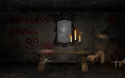 Creepy Blood Chair Horror Sofa Daylight Dead