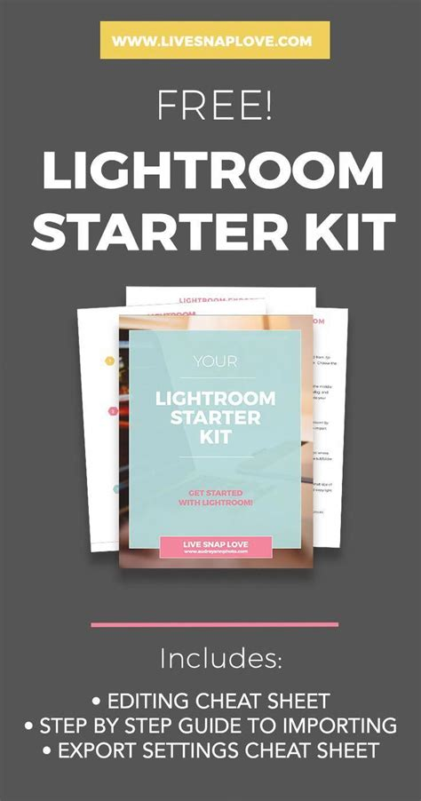 It might not seem like it if you're just starting out as a beginner photographer, though. Lightroom Editing Cheat Sheets | Lightroom Guides ...