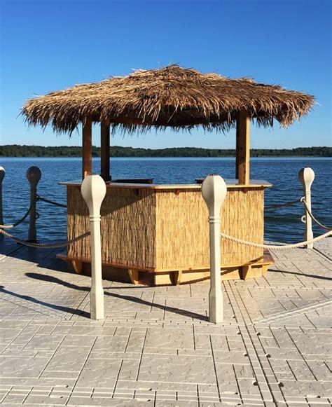Tiki Hut Hours - tiki hut wave armor floating docks