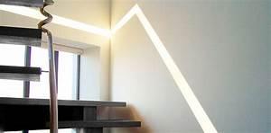 eclairage d39interieur siehr With lumiere au sol interieur
