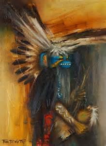 Pueblo Native American Paintings