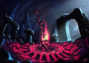 Dark, Souls, Bonfire, By, Shamfoo, On, Newgrounds