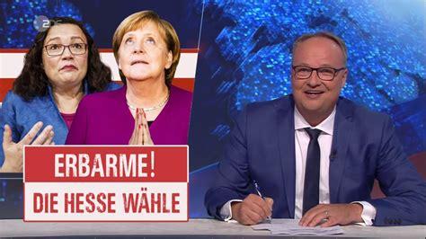 """Spiesrutenlauf für merkel heute in celle. Heute-Show gegen Merkel: """"Was hat sie denn immer mit ..."""