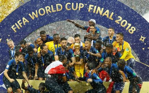 Breaking Russia France Wins Fifa World Cup