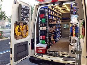 Stocking Electrical Service Vans