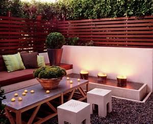 choisissez un panneau occultant de jardin archzinefr With superb decoration de jardin exterieur 9 deco salon moderne photos
