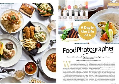 magazines cuisine food photography theinvisiblestylist