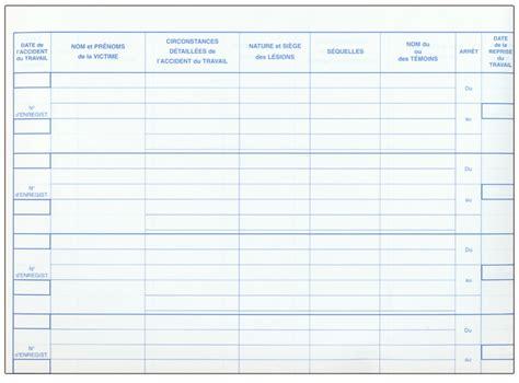 registre du travail modele affichages obligatoires conventions collectives document