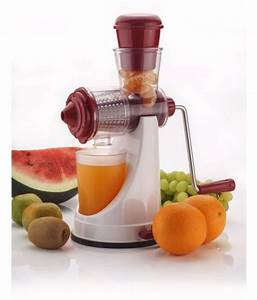 Fruit  U0026 Vegetable Manual Juicer