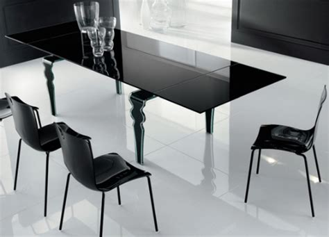 modern glass dining table decosee