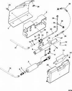 Mercruiser 496 Mag  H O  Model  Fuel Pump  U0026 Fuel Cooler Parts