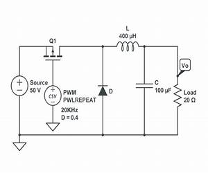 Schematic Of  A  Step Down Converter  B  Step Up Converter