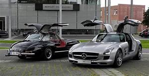 Moderne Autos : file mercedes benz sls amg c 197 mercedes benz 300 sl w 198 frontansicht 10 august ~ Gottalentnigeria.com Avis de Voitures