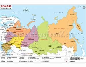 Buy Shop Russland Politische Karte (Russia Political Map ...
