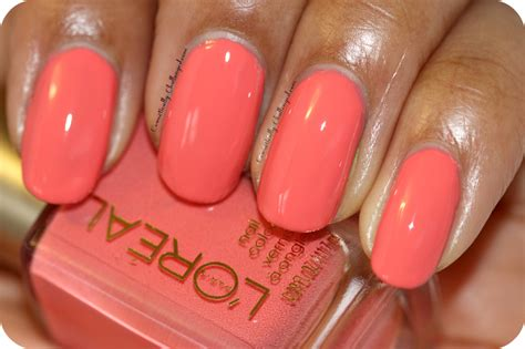 L'oreal Trendsetter Nail Polish Collection Review And