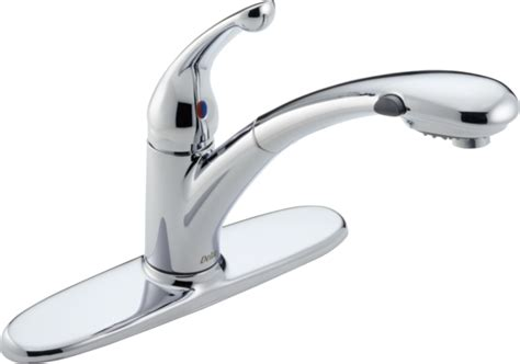 Single Handle Pull-out Kitchen Faucet 470-dst