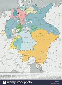 Map of The German Confederation 1815-1866 (Deutscher Bund ...