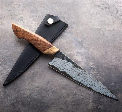 handmade knives knife chef australian kitchen gyuto blackwood custom pocket jelle eatingtools hazenberg folding 178mm knifeanthings