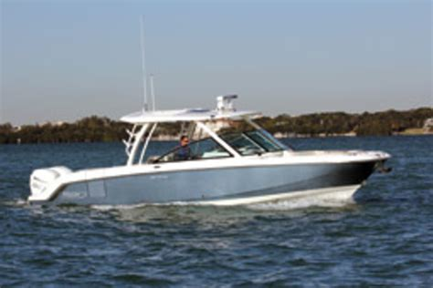 Boston Whaler Boats Website by Boston Whaler 320 Vantage Soundings