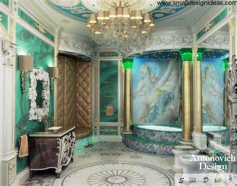 modern bathroom decor ideas rococo interior design style