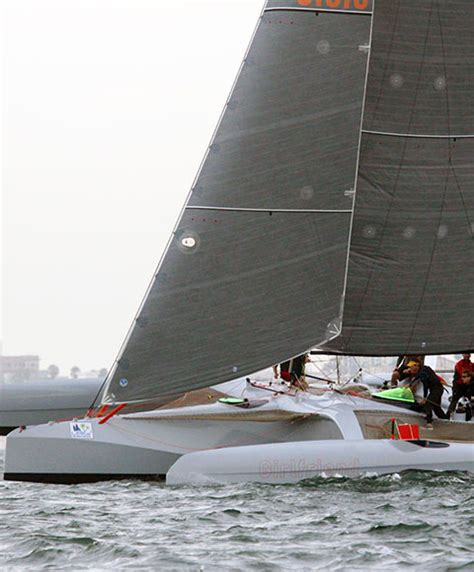 Trimaran Jessica Rabbit by Racing Trimarans Vs Catamarans All Around Performance